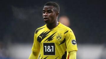 It didn't take Moukoko long to break through at Dortmund