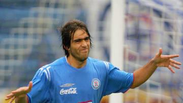 El delantero argentino Cesar Delgado del