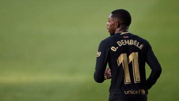 Hat er beim FC Barcelona über das kommende Jahr hinaus eine Zukunft? Ousmane Dembélé (hier im gestrigen Spiel in Elche)