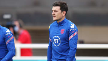 Harry Maguire is back in England training