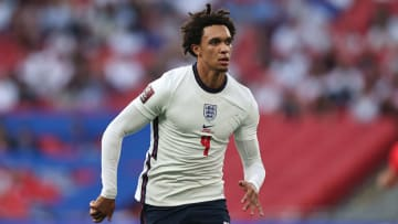 Alexander-Arnold started in midfield during England's win over Andorra