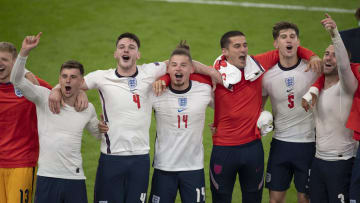 England players are enjoying their downtime after Euro 2020