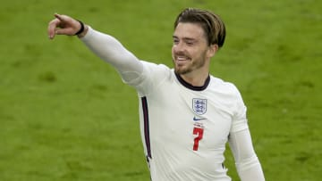 Jack Grealish featured for England at Euro 2020