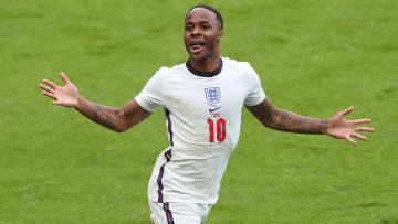 Raheem Sterling features in UEFA's Team of the Tournament