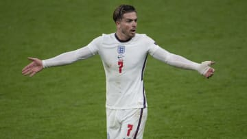 Jack Grealish will get his first England start at Euro 2020