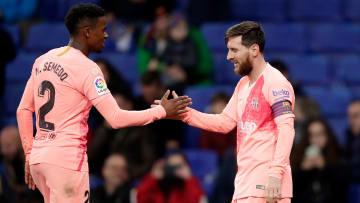 Nelson Semedo has never seen Messi practice free-kicks in Barcelona training