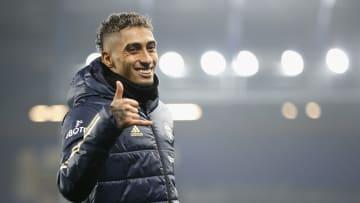 Raphinha scored Leeds' winner against Everton