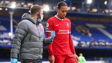 Van Dijk is currently on his way back from injury