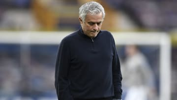 Jose Mourinho was sacked by Tottenham on Monday