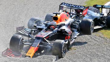 Max Verstappen tuvo una peligrosa colisión con Lewis Hamilton en el Gran Premio de Italia