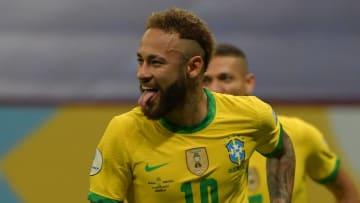 Neymar a encore marqué ce dimanche avec la Seleção.