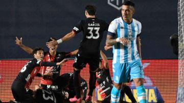 FBL-ARGENTINA-FINAL-RACING-COLON - Colón, el gran campeón.