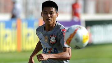 Zhizhao chegou ao Corinthians em 2012.