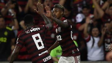 Bruno Henrique e Gerson foram destaques do Flamengo