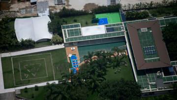 La villa brasiliana di Neymar