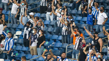 Aficionados de Rayados de Monterrey.