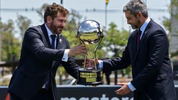 FBL-CONMEBOL-HEADQUARTERS-WORKS-INAUGURATION