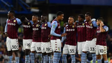 Aston Villa face a trip to Old Trafford on Saturday