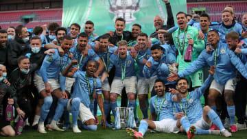 Manchester City remporte la Coupe de la Ligue pour la 7e fois de son histoire face à Tottenham (1-0)