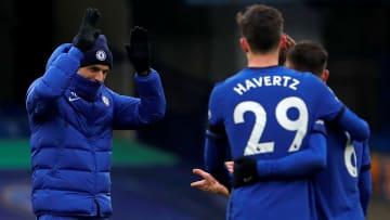 Thomas Tuchel (l.) ist davon überzeugt, dass sich Kai Havertz beim FC Chelsea durchsetzen wird