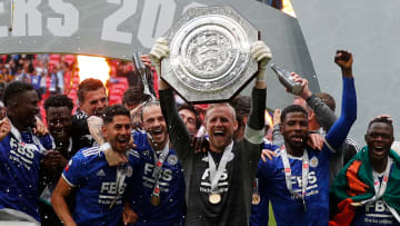 Leicester have already clinched one piece of silverware this season