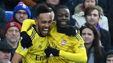 Nicolas Pepe and Pierre-Emerick Aubameyang are among the two most expensive transfers made by Arsenal