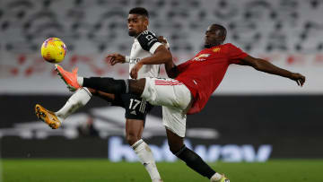 Bailly suffered an injury in training