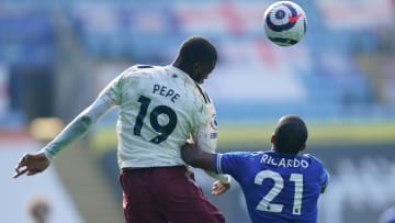 Nicolas Pepe a été l'un des hommes forts de la victoire des Gunners face à Leicester ce dimanche.