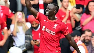 Mané chegou ao 100º gol com a camisa do Liverpool