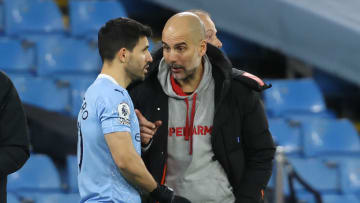 Pep Guardiola could come up against Sergio Aguero next season