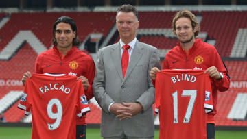 Two signings from Louis van Gaal's infamous 'galactico' summer of 2014