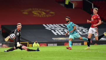 Salah sealed Liverpool's win at Old Trafford