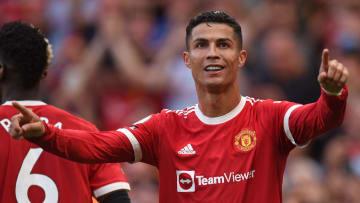 Cristiano anotou os dois gols da vitória do United