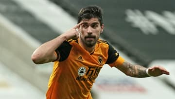Neves celebrates his equaliser