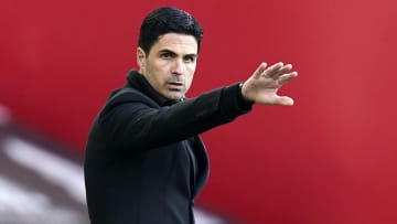 Mikel Arteta saw his team thrash Slavia Prague 4-0 in the Europa League