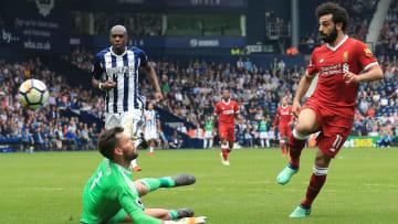 Salah dinks past Ben Foster in 2018's 2-2 draw