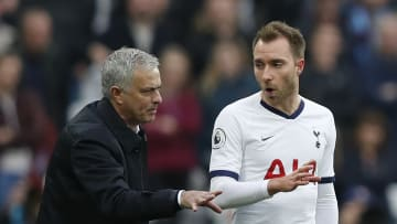 Jose Mourinho has revealed he cried and prayed after watching Eriksen collapse on the pitch