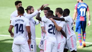 El Madrid visitó al Levante en el que fue un encuentro muy complicado