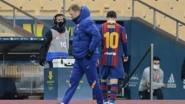 Lionel Messi recibió su primera expulsión como jugador del Barcelona.