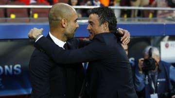 Guardiola y Luis Enrique, los entrenadores de los tripletes