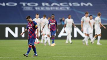 O Barcelona sofreu duros golpes na Champions League nas últimas temporadas. Veja os 10 piores.