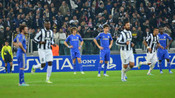 Juventus and Chelsea last faced each other in the group stage of the 2012/13 Champions League