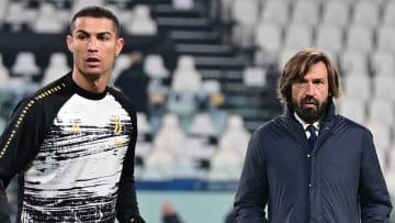 Cristiano Ronaldo e Andrea Pirlo, Juve