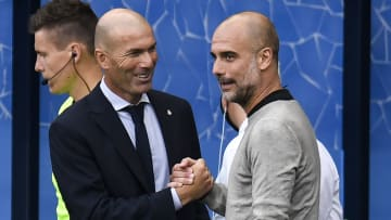Zidane and Guardiola will be vying for Europe's top prize