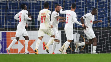 Demir Grup Sivasspor'un gol sevinci