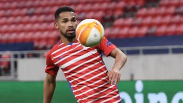 Yangel Herrera has caught the eye for Granada in this season's Europa League