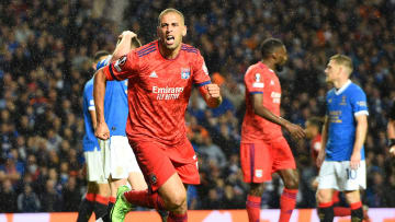 Islam Slimani et les Lyonnais ont battu les Rangers ce jeudi.