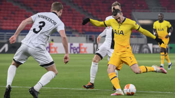 Gareth Bale scored his fifth goal of the season against Wolfsberger