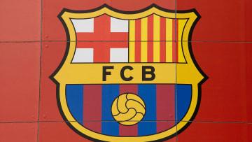 Ilustrasi logo Barcelona