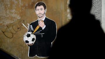 Andrea Agnelli, murales